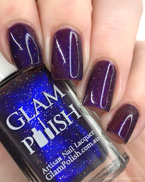 Glam Polish The Darkening 25 Sweetpeas