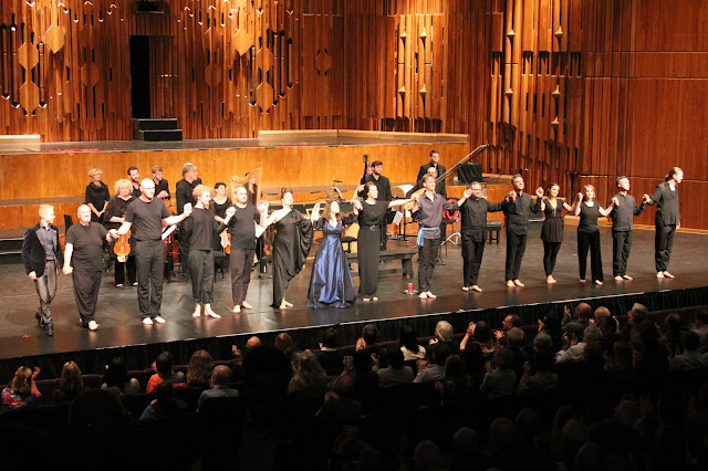 Cast of Monteverdi's Il ritorno d'Ulisse in Patria, Academy of Ancient Music, at the Barbican (c) John McMunn