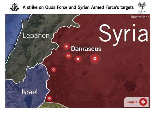 israel-intercepts-4-missiles-over-golan-heights-strikes-damascus
