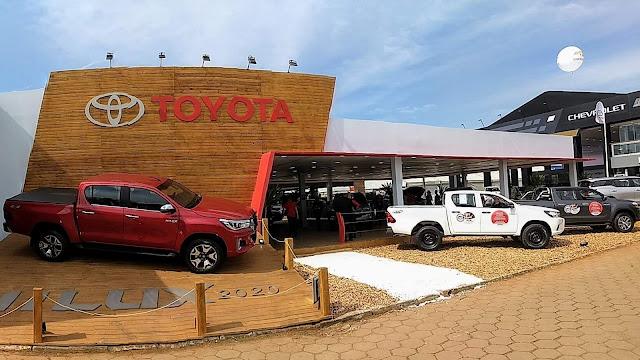 Toyota apresenta linha 2020 de Hilux, Yaris e RAV4 na Expointer