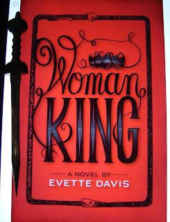 Portada del libro Woman King, de Evette Davis