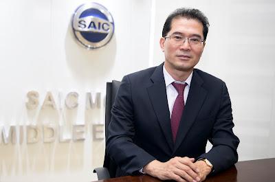 توم لي, المدير التنفيذي لشركة 'سايك موتور' في الشرق الأوسط