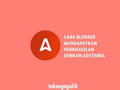Cara Blogger Mendapatkan penghasilan dengan Adsterra