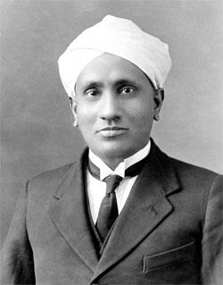 சர் C.V. ராமன் (சந்திரசேகர வெங்கட் ராமன்)