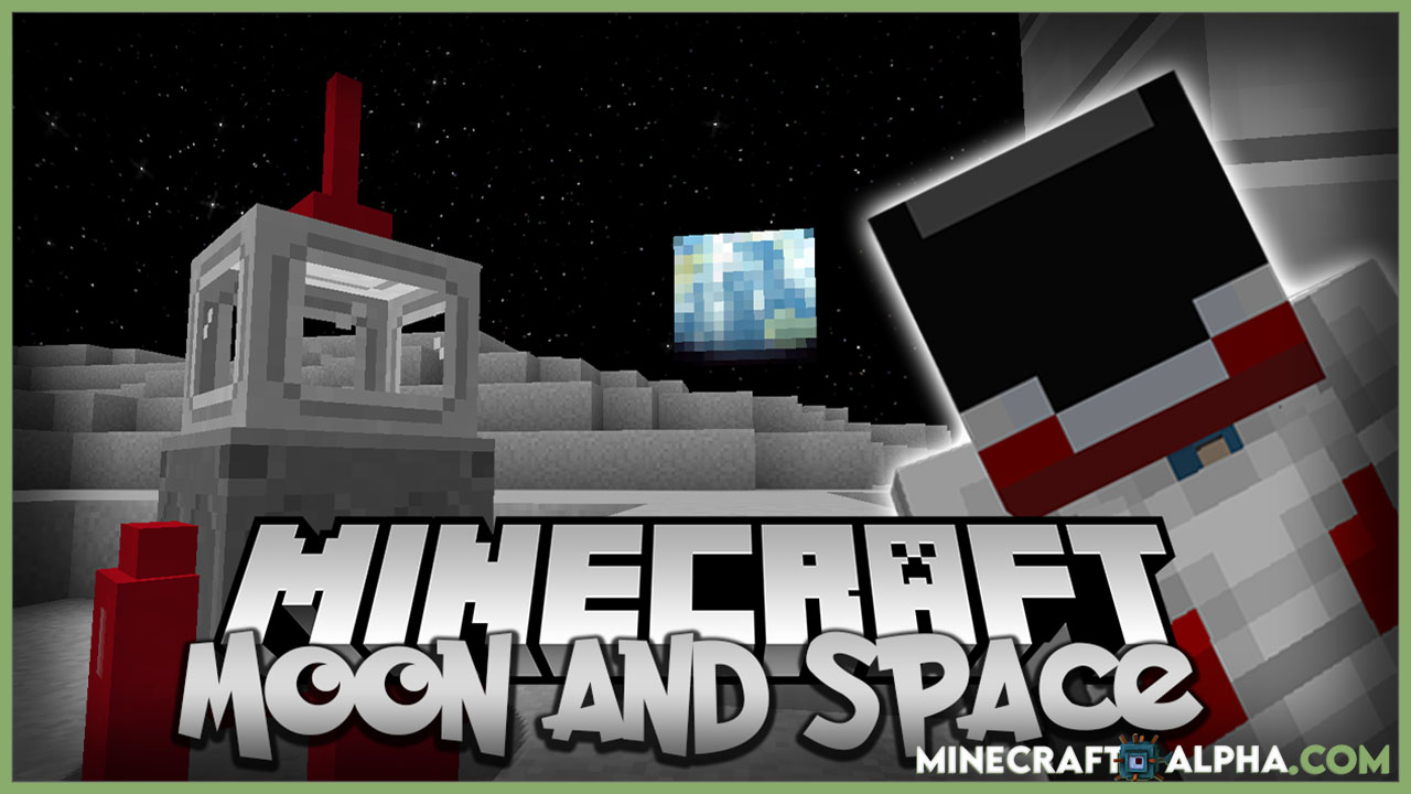 Minecraft New Moon And Space Mod