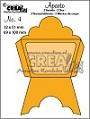 Set van 2 stansen waarmee een envelopje en een bijpassend kaartje kan worden gemaakt. Set of 2 dies with which an envelope and a matching card can be made.