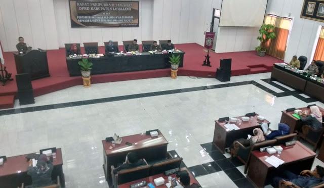 Rapat Paripurna DPRD Lumajang