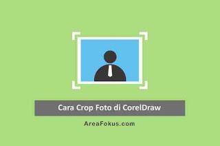 Cara Crop Foto di Corel