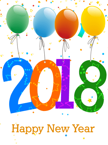 happy new year e greetings 2018