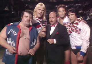 WWE / WWF Saturday Night's Main Event 1 (1985) - Mean Gene interviews Ricky Steamboat and The Midnight Express