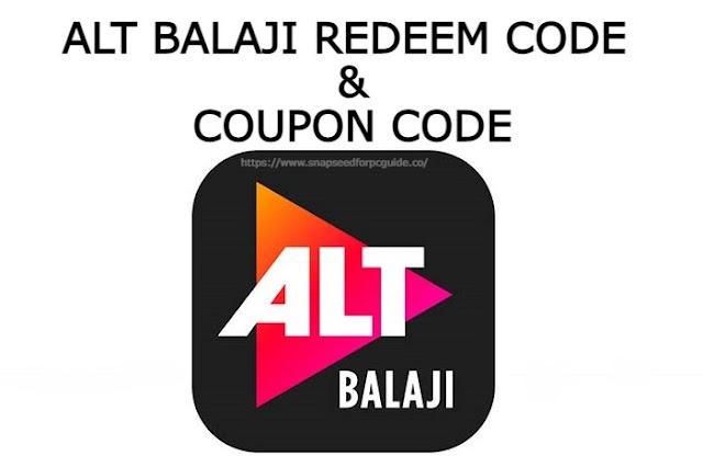 Alt Balaji Redeem Code