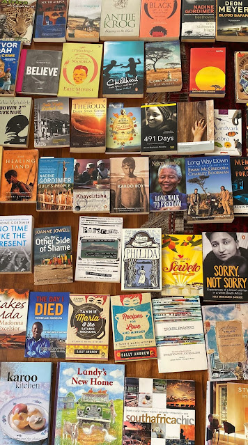 Book collection. Dorothee Lefering. South Africa. The Touristin