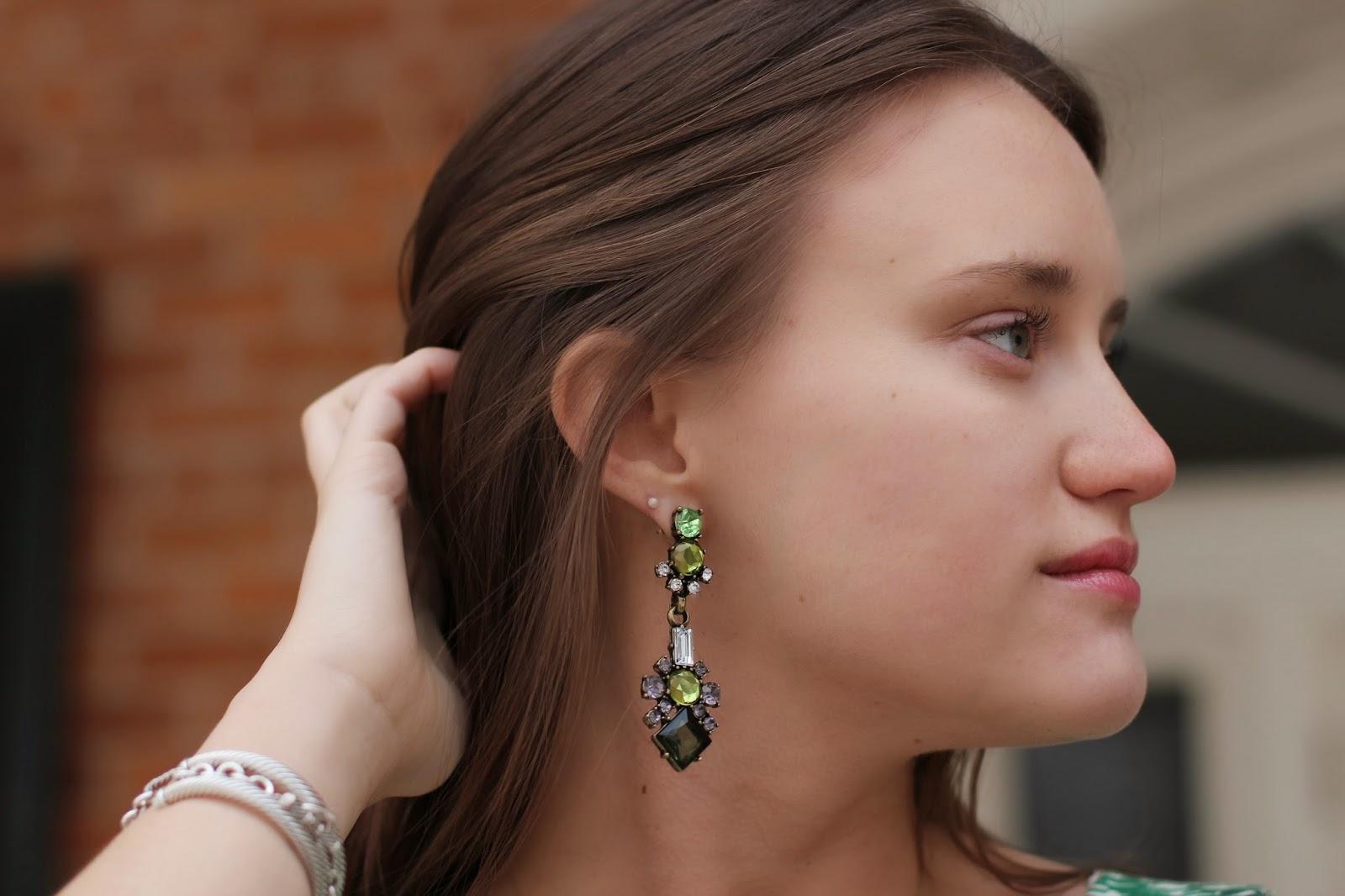 nZaara, nZaara earrings, nZaara fashion blogger
