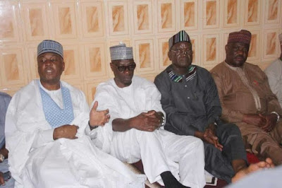 Saraki In Kwara, Meets Wike & Gov. Ortom Who Dumped APC
