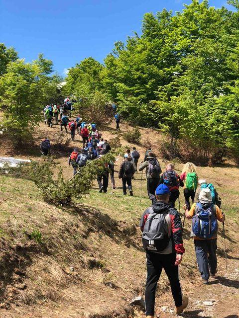 """Održan tradicionalni planinarski pohod """"Zijova staza 2021"""""""