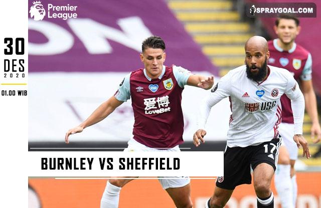 Prediksi Skor Burnley vs Sheffield 30 Desember 2020