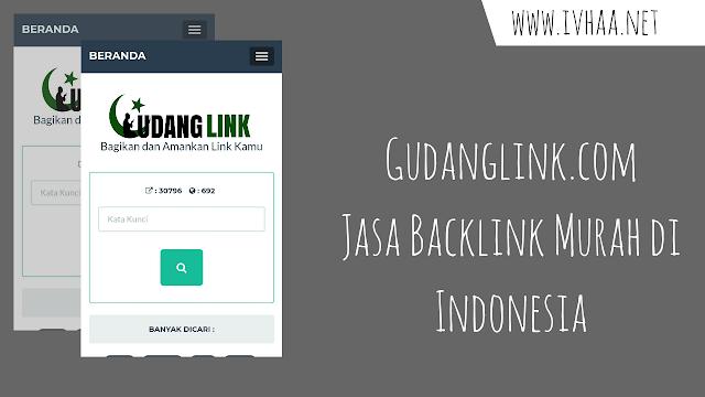 Gudanglink.com, Backlink Premium di Indonesia Dengan Harga Murah