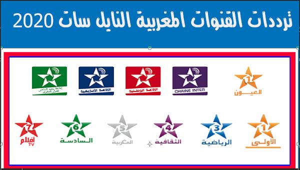 ترددات القنوات المغربية على Neilsat النايل سات 2020
