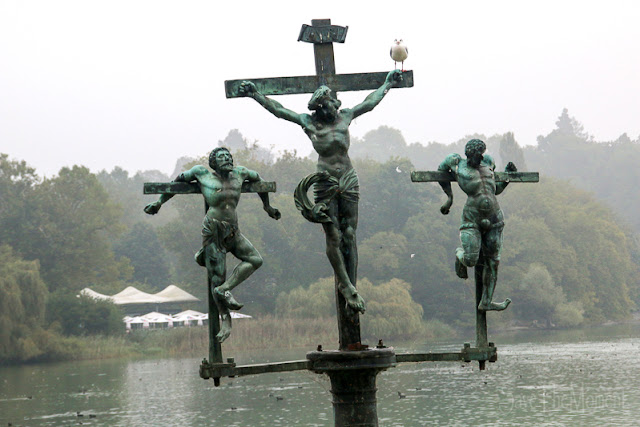 Schwedenkreuz auf der Mainau