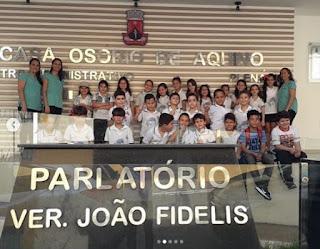 Parlamento Mirim: Câmara recebe estudantes do Colégio Betesda de Guarabira