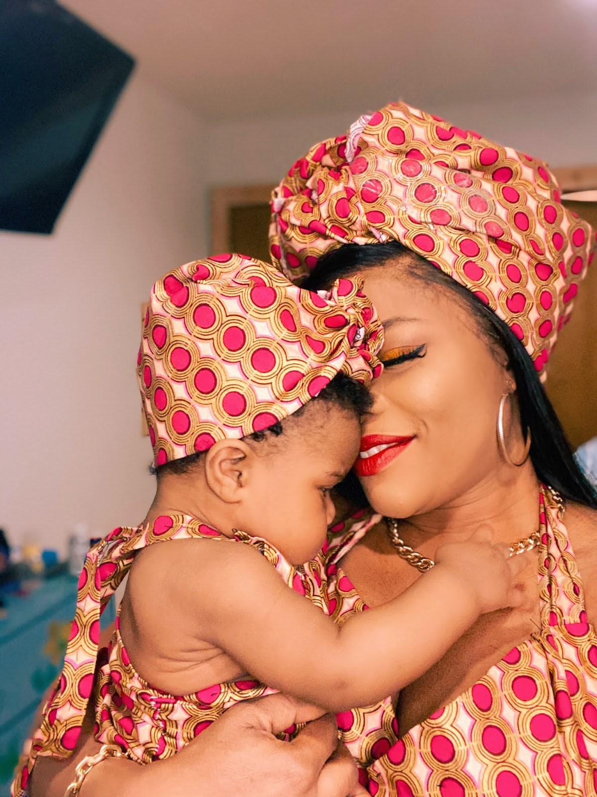Adorable Photos of Laura Ikeji-Kanu and her daughter