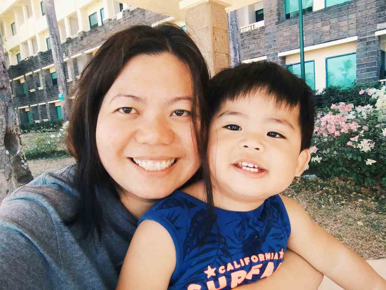 Mother & son at Canyon Cove