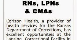 Kansas City Kansan: LOCAL JOB ALERT: Lansing Correctional