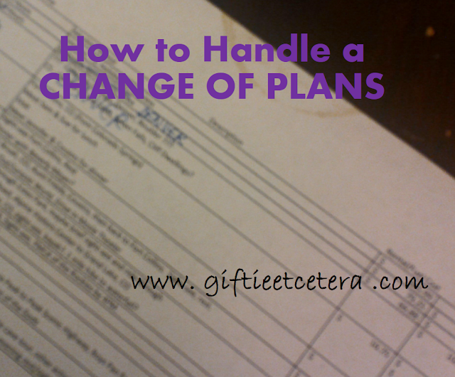 planner, change of plans, travel itinerary