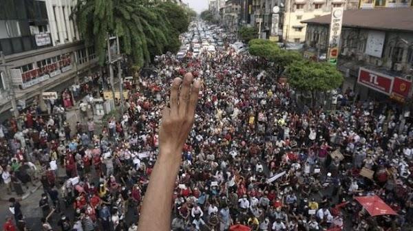 Myanmar Makin Memanas, Kantor HAM PBB Sebut Demonstran Tewas Capai 18 Orang