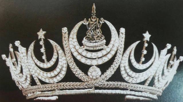 diamond crescent tiara selangor malaysia queen tengku ampuan rahimah garrard