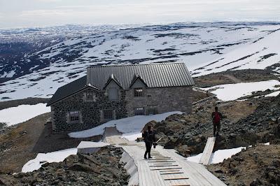 Północny Punkt Widzenia: Moja własna Śnieżka. Haldde toppen.