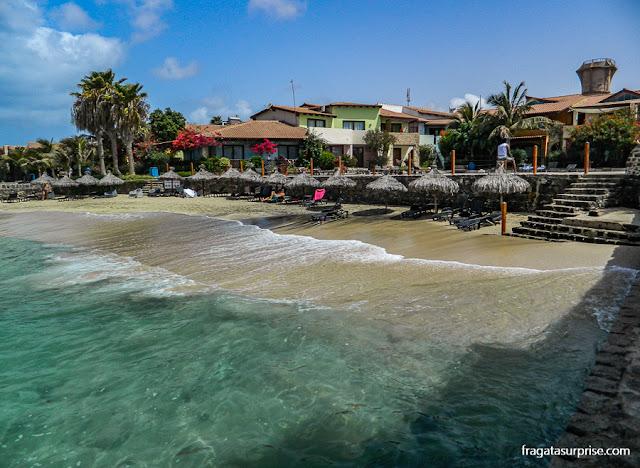 Condomínio Porto Antigo 1, hospedagem em Santa Maria, Ilha do Sal
