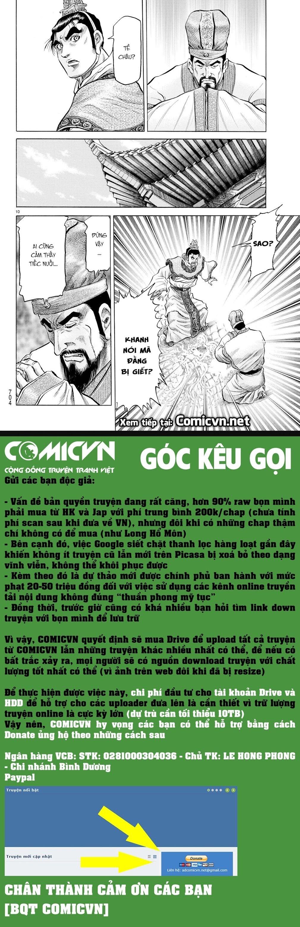 Chú Bé Rồng - Ryuuroden chap 276 - Trang 10