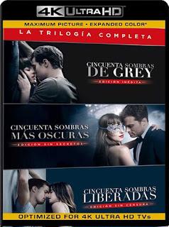 Cincuenta Sombras de Grey (2015-2018) 4K 2160p UHD [HDR] Latino [GoogleDrive]