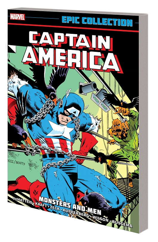 Captain America Epic Collection - Monsters & Men Tp