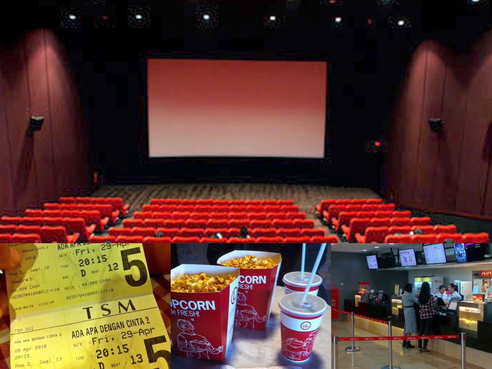 Alamat Lengkap Jam buka dan Harga Tiket Bioskop di Bandung