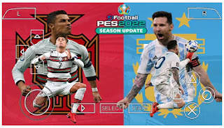 Download PES 2022 PPSSPP EURO 2020 Edition Peter Drury Callname & Latest Update New Transfer