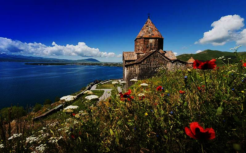 Lake-Sevan-and-the-Sevanavank-Monastery