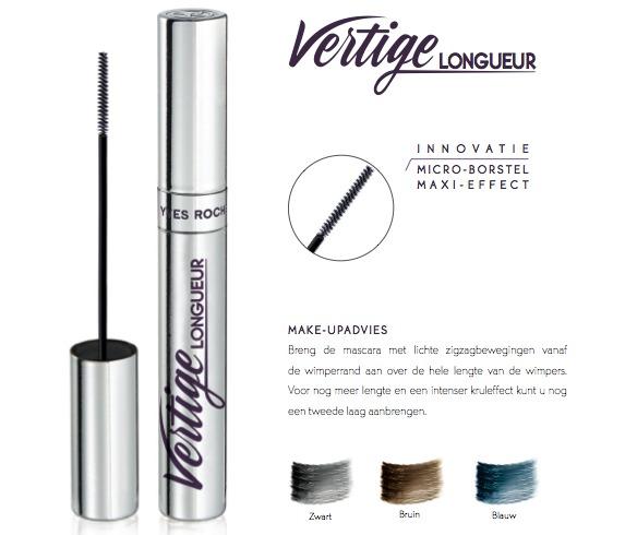 Yves Rocher mascara vertige longueur