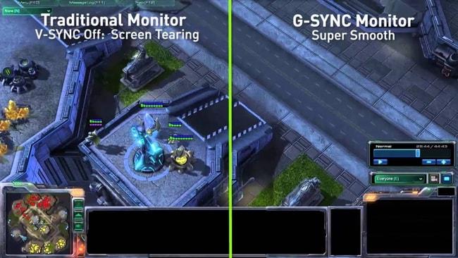 V-Sync vs G-Sync