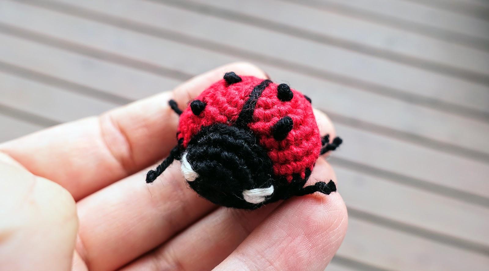 Ravelry: Gaston Amigurumi Ladybird pattern by Tatie   887x1600