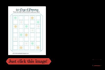 Free Lent Printable