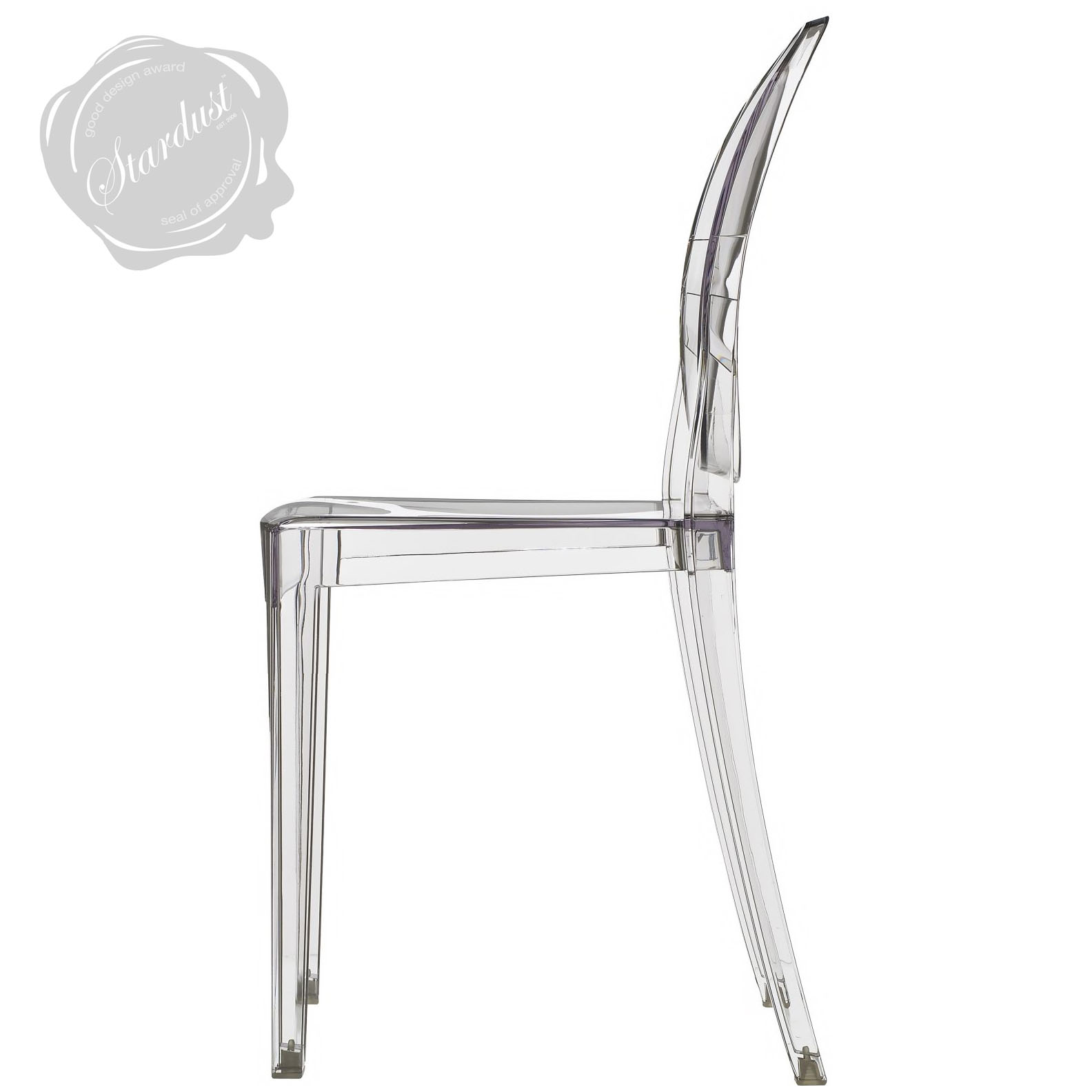 victoria ghost chair heavy duty folding chairs outdoor transparent clear kartell