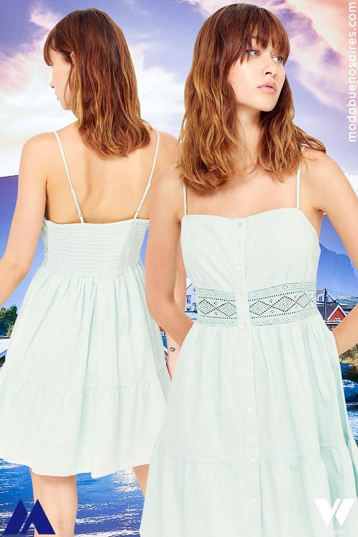 vestidos corto verano 2022