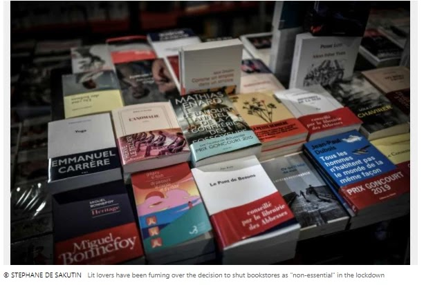 'Sorry Amazon': French supermarket steps up for local booksellers