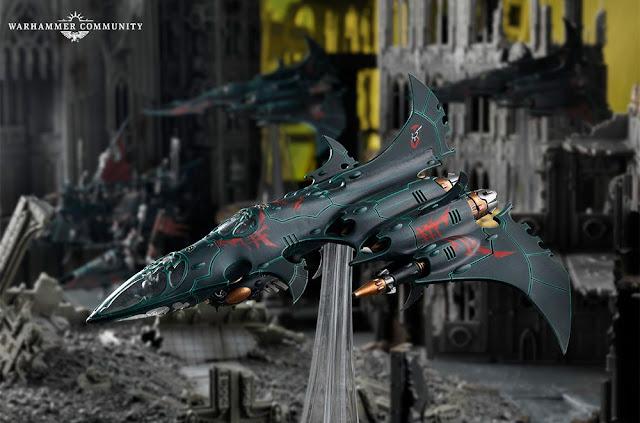 Caza Bombardero Drukhari