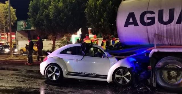 Muere conductor prensado en la Forjadores