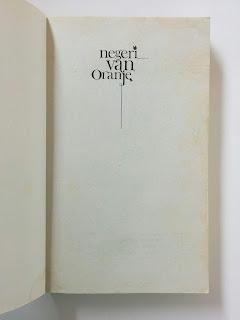 Jual Novel Negeri Van Oranje