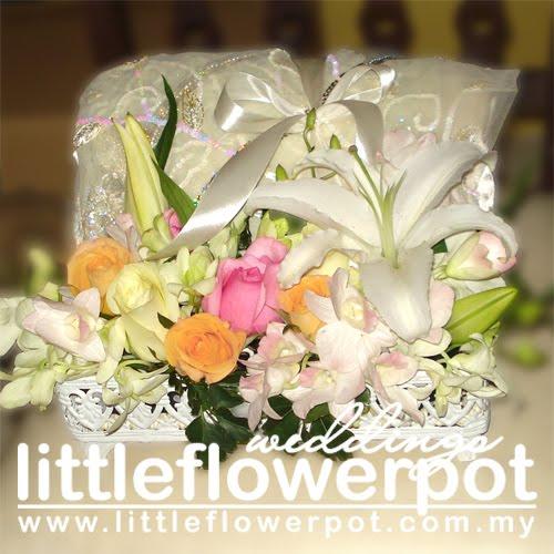 Fresh Flower Wedding Cake Designs