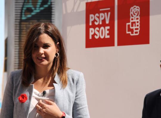 Sandra Gómez anuncia que cuando sea alcaldesa alcanzará un pacto generacional para combatir el cambio climático
